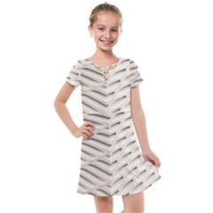 Backround Pattern Texture Dimension Kids  Cross Web Dress