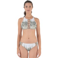 Pencil Drawing Drawing Port Perfectly Cut Out Bikini Set by Sapixe