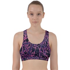 Fabric Textile Texture Macro Photo Back Weave Sports Bra