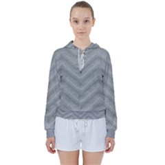 White Fabric Pattern Textile Women s Tie Up Sweat