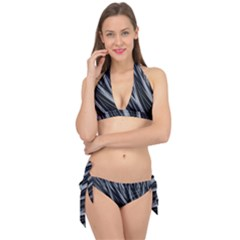 Fractal Mathematics Abstract Tie It Up Bikini Set