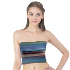 Background Horizontal Lines Tube Top by Sapixe
