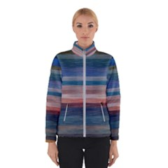 Background Horizontal Lines Winterwear by Sapixe