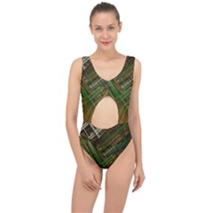 City Forward Urban Planning Center Cut Out Swimsuit
