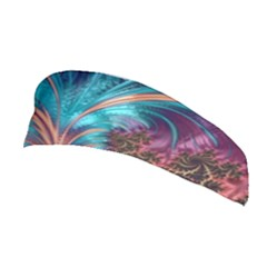 Feather Fractal Artistic Design Stretchable Headband