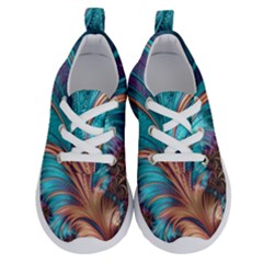 Feather Fractal Artistic Design Running Shoes