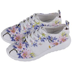 Lily Hand Painted Iris Men s Lightweight Sports Shoes by Sapixe