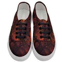 Sunset Silhouette Winter Tree Women s Classic Low Top Sneakers