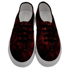 Sunset Silhouette Winter Tree Men s Classic Low Top Sneakers