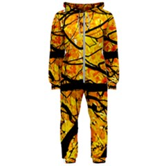 Golden Vein Hooded Jumpsuit (ladies)