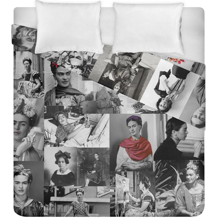Frida Kahlo pattern Duvet Cover Double Side (King Size)
