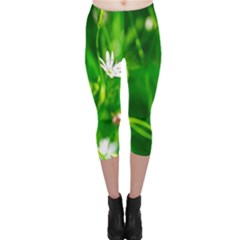 Inside The Grass Capri Leggings