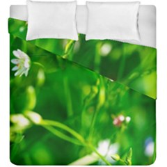 Inside The Grass Duvet Cover Double Side (king Size)