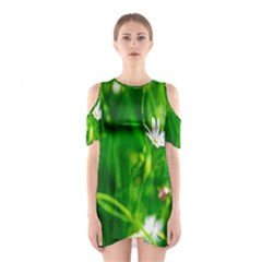 Inside The Grass Shoulder Cutout One Piece