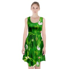 Inside The Grass Racerback Midi Dress