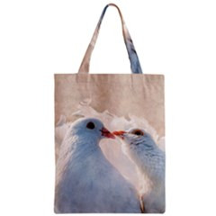 Doves In Love Classic Tote Bag by FunnyCow