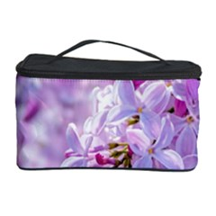 Pink Lilac Flowers Cosmetic Storage Case by FunnyCow