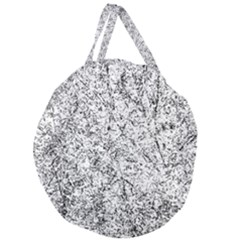 Willow Foliage Abstract Giant Round Zipper Tote by FunnyCow