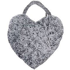 Willow Foliage Abstract Giant Heart Shaped Tote by FunnyCow