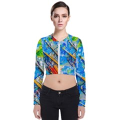 Artist Palette And Brushes Bomber Jacket by FunnyCow