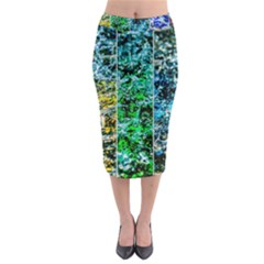 Abstract Of Colorful Water Midi Pencil Skirt by FunnyCow