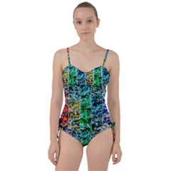 Abstract Of Colorful Water Sweetheart Tankini Set by FunnyCow