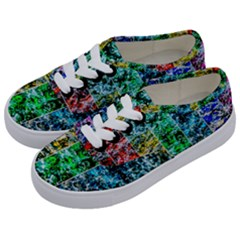 Abstract Of Colorful Water Kids  Classic Low Top Sneakers by FunnyCow