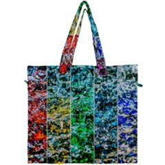 Abstract Of Colorful Water Canvas Travel Bag by FunnyCow