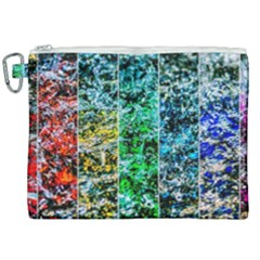Abstract Of Colorful Water Canvas Cosmetic Bag (xxl) by FunnyCow