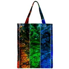 Rainbow Of Water Classic Tote Bag by FunnyCow
