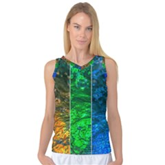 Rainbow Of Water Women s Basketball Tank Top by FunnyCow