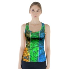 Rainbow Of Water Racer Back Sports Top by FunnyCow