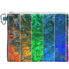 Rainbow Of Water Canvas Cosmetic Bag (xxxl) by FunnyCow