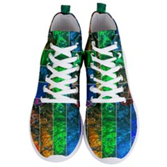 Rainbow Of Water Men s Lightweight High Top Sneakers by FunnyCow