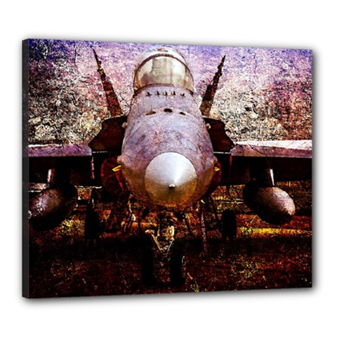 The Art Of Military Aircraft Canvas 24  X 20