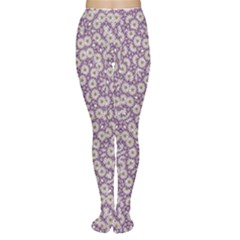 Ditsy Floral Pattern Women s Tights