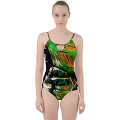 Lillies In The Terracota Vase 5 Cut Out Top Tankini Set by bestdesignintheworld