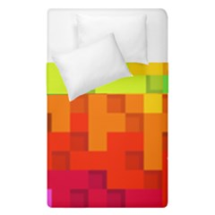 Abstract Background Square Colorful Duvet Cover Double Side (single Size) by Nexatart