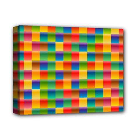 Background Colorful Abstract Deluxe Canvas 14  X 11