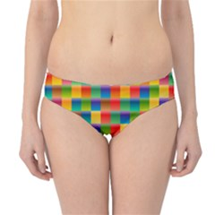 Background Colorful Abstract Hipster Bikini Bottoms