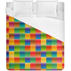 Background Colorful Abstract Duvet Cover (california King Size)
