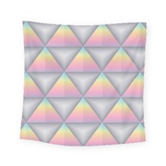 Background Colorful Triangle Square Tapestry (small)