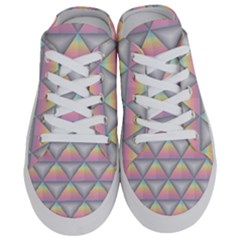 Background Colorful Triangle Half Slippers by Nexatart