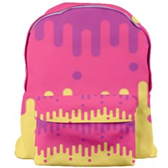 Background Image Giant Full Print Backpack