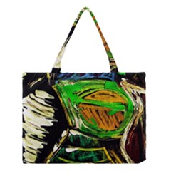 Lillies In The Terracota Vase 5 Medium Tote Bag