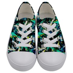 Brain Reflections Kids  Low Top Canvas Sneakers