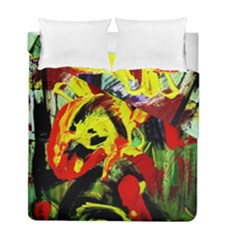 437241213103536   Bread And Fish Duvet Cover Double Side (full/ Double Size) by bestdesignintheworld