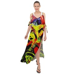 437241213103536 - Bread And Fish Maxi Chiffon Cover Up Dress