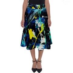 Brain Reflections 2 Perfect Length Midi Skirt