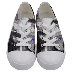 Downtown Dream Kids  Low Top Canvas Sneakers